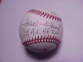 Ball Signed by Frank Howard